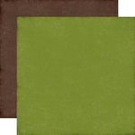 Echo Park - I Love Christmas Collection - 12 x 12 Double Sided Paper - Green