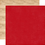 Echo Park - I Love Christmas Collection - 12 x 12 Double Sided Paper - Red