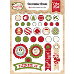 Echo Park - I Love Christmas Collection - Decorative Brads