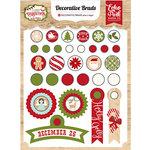 Echo Park - I Love Christmas Collection - Decorative Brads