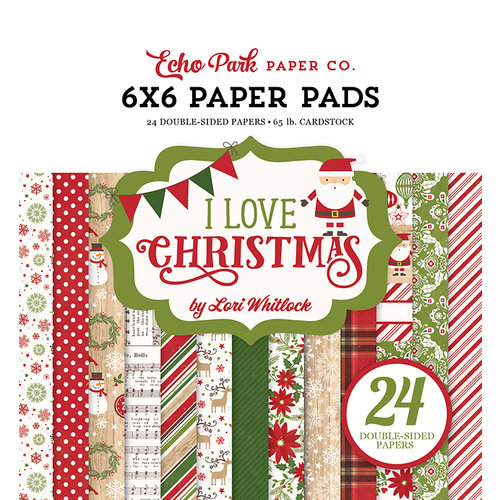 Echo Park - I Love Christmas Collection - 6 x 6 Paper Pad