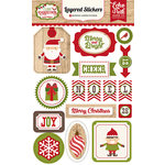 Echo Park - I Love Christmas Collection - Layered Stickers