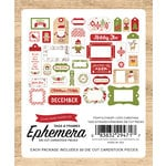 Echo Park - I Love Christmas Collection - Ephemera - Frames and Tags