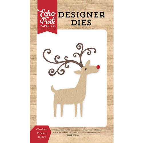 Echo Park - I Love Christmas Collection - Designer Dies - Christmas Reindeer