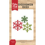 Echo Park - I Love Christmas Collection - Designer Dies - Snowflake 6