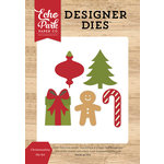 Echo Park - I Love Christmas Collection - Designer Dies - Christmastime