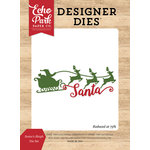 Echo Park - I Love Christmas Collection - Designer Dies - Santa's Sleigh
