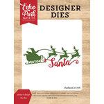 Echo Park - I Love Christmas Collection - Designer Dies - Santa's Sleigh