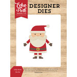 Echo Park - I Love Christmas Collection - Designer Dies - Jolly Santa