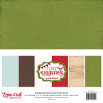 Echo Park - I Love Christmas Collection - 12 x 12 Paper Pack - Solids