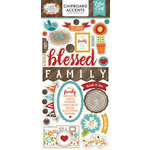 Echo Park - I Love Family Collection - Chipboard Stickers