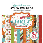 Echo Park - I Love Family Collection - 6 x 6 Paper Pad
