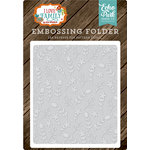Echo Park - I Love Family Collection - Embossing Folder - Floral Stem