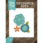 Echo Park - I Love Family Collection - Designer Dies - Floral