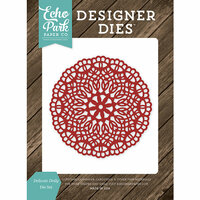 Echo Park - I Love Family Collection - Designer Dies - Delicate Doily