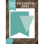 Echo Park - I Love Family Collection - Designer Dies - Bunting Banner
