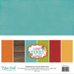 Echo Park - I Love Family Collection - 12 x 12 Paper Pack - Solids