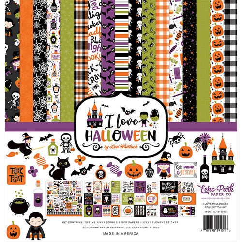 Echo Park - I Love Halloween Collection - 12 x 12 Collection Kit