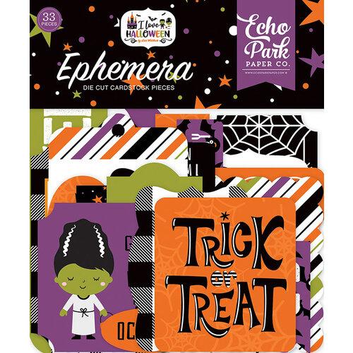 Echo Park - I Love Halloween Collection - Ephemera