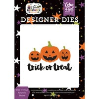 Echo Park - I Love Halloween Collection - Designer Dies - Trick or Treat Pumpkins
