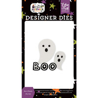 Echo Park - I Love Halloween Collection - Designer Dies - Boo Ghosts