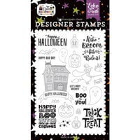 Echo Park - I Love Halloween Collection - Clear Photopolymer Stamps - Boo to You