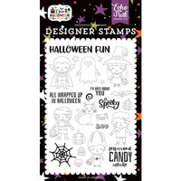 Echo Park - I Love Halloween Collection - Clear Photopolymer Stamps - Too Cute To Spook