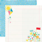 Echo Park - I Love Sunshine Collection - 12 x 12 Double Sided Paper - Perfect Moment