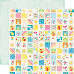 Echo Park - I Love Sunshine Collection - 12 x 12 Double Sided Paper - Summer Memories