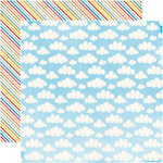 Echo Park - I Love Sunshine Collection - 12 x 12 Double Sided Paper - Blue Sky