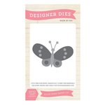 Echo Park - I Love Sunshine Collection - Designer Dies - Butterfly - Two