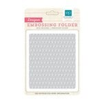 Echo Park - I Love Sunshine Collection - Embossing Folders - Mini Triangles