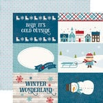 Echo Park - I Love Winter Collection - 12 x 12 Double Sided Paper - 4 x 6 Journaling Cards