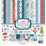 Echo Park - I Love Winter Collection - 12 x 12 Collection Kit