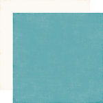Echo Park - I Love Winter Collection - 12 x 12 Double Sided Paper - Teal
