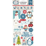 Echo Park - I Love Winter Collection - Chipboard Stickers