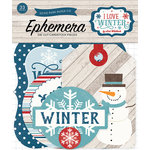 Echo Park - I Love Winter Collection - Ephemera