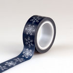 Echo Park - I Love Winter Collection - Decorative Tape - Snowflakes