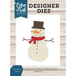 Echo Park - I Love Winter Collection - Designer Dies - Snowman 2