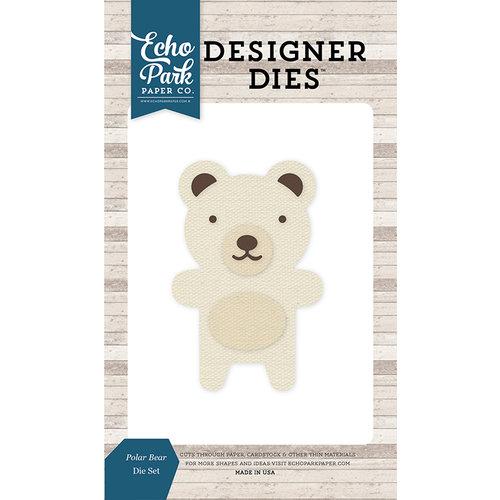 Echo Park - I Love Winter Collection - Designer Dies - Polar Bear