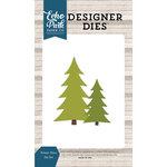 Echo Park - I Love Winter Collection - Designer Dies - Winter Pines
