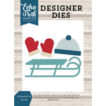 Echo Park - I Love Winter Collection - Designer Dies - All Bundled Up