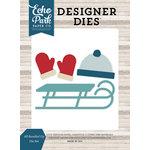Echo Park - I Love Winter Collection - Designer Dies - All Bundled Up