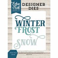 Echo Park - I Love Winter Collection - Designer Dies - Word