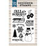Echo Park - I Love Winter Collection - Clear Acrylic Stamps - Winter Wonderland
