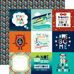 Echo Park - Imagine That Boy Collection - 12 x 12 Double Sided Paper - 4 x 4 Journaling Cards