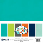 Echo Park - Imagine That Boy Collection - 12 x 12 Paper Pack - Solids