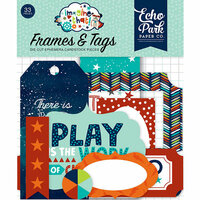 Echo Park - Imagine That Boy Collection - Ephemera - Frames and Tags
