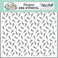 Echo Park - Imagine That Boy Collection - 6 x 6 Stencil - Lightning Bolt