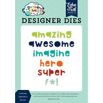Echo Park - Imagine That Boy Collection - Designer Dies - Amazing Superhero